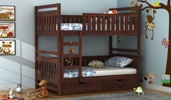 Bunk Beds Buy Bunk Bed For Kids Online Upto 55 Off Woodenstreet