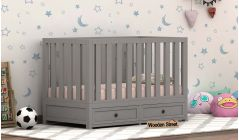 Buy wooden cribs and baby cot online in India