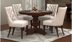 Solid Wood ROUND DINING TABLE SET