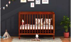 Buy wooden baby cribs, baby cot online in India