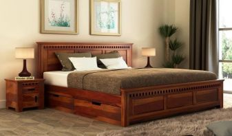 Storage Bed Buy Bed With Storage Online Woodenstreet Upto 55 Off