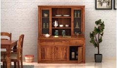 Wooden crockery unit online