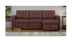online sofa made of leather