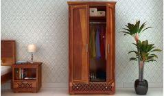 wooden wardrobe online shopping