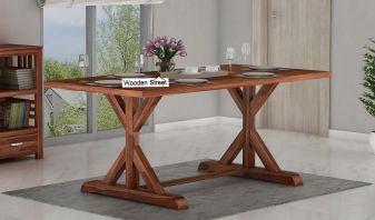 sheesham wood dining table online