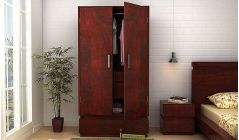buy wardrobe online crafted with solid wood