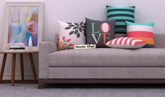 cushion for wooden sofa