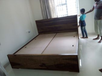sheesham wood king size bed online
