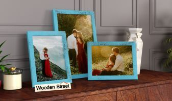 Wooden Triple Photo Frames Online in India