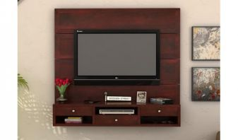 Wooden Wall mount tv units