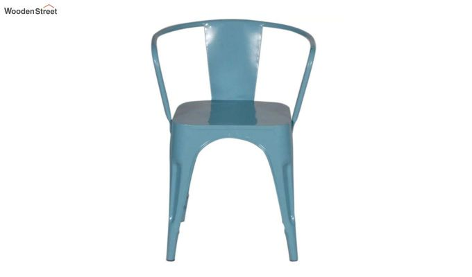 Aero Metal Arm Chair (Sky Blue)-3