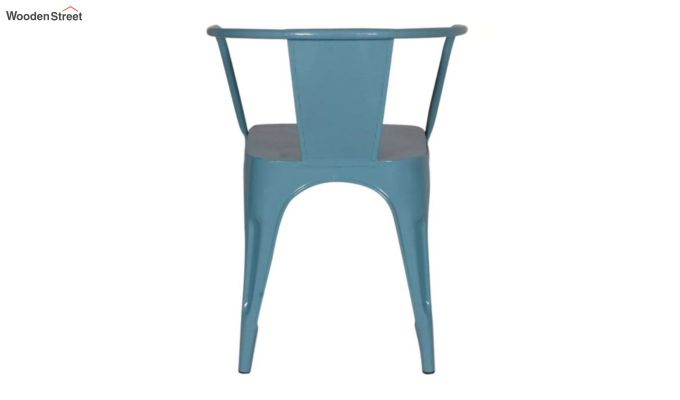 Aero Metal Arm Chair (Sky Blue)-5