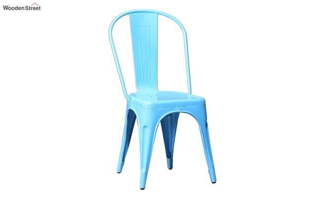 Ahora Metal Chair (Blue)-2