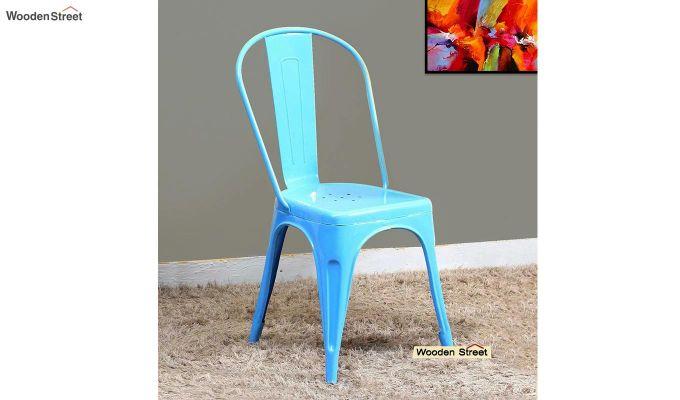 Ahora Metal Chair (Blue)-1