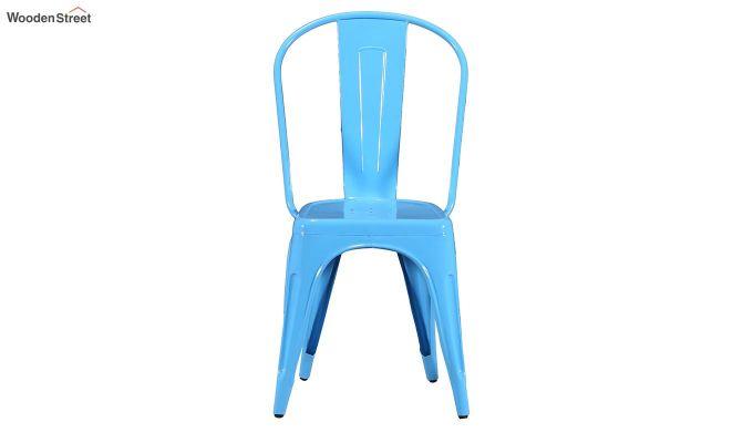 Ahora Metal Chair (Blue)-3
