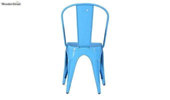 Ahora Metal Chair (Blue)-5
