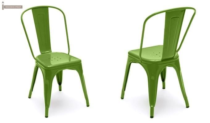 Ahora Metal Chair (Green)-2