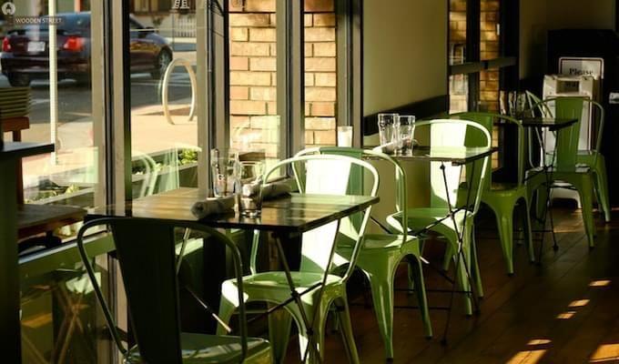 Ahora Metal Chair (Green)-5