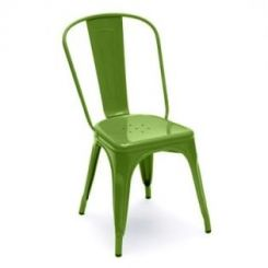 Ahora Green Iron Chair (Green)