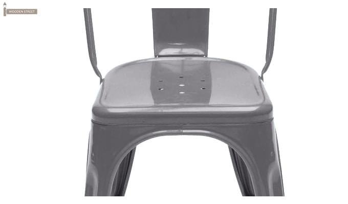 Ahora Metal Chair (Grey)-3