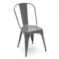 Ahora Grey Iron Chair (Grey)