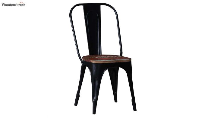 Alexa Metal Chair (Black)-2