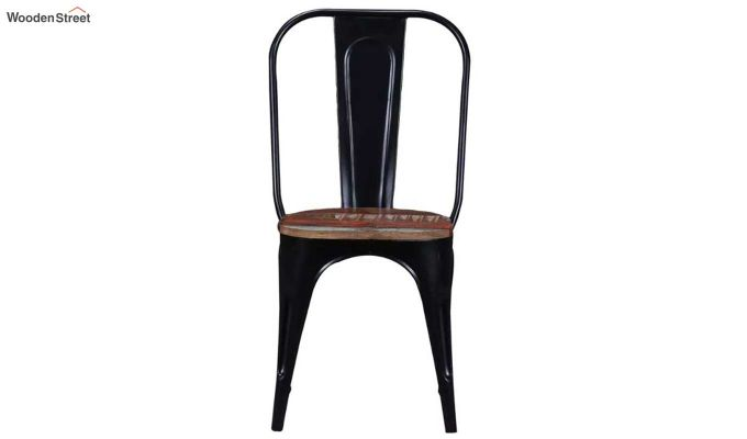 Alexa Metal Chair (Black)-3