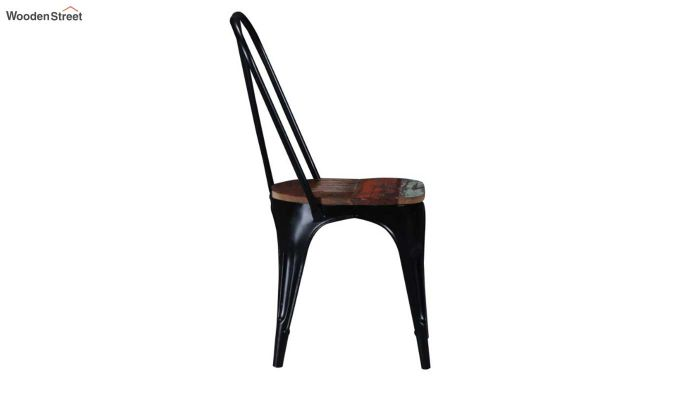 Alexa Metal Chair (Black)-4