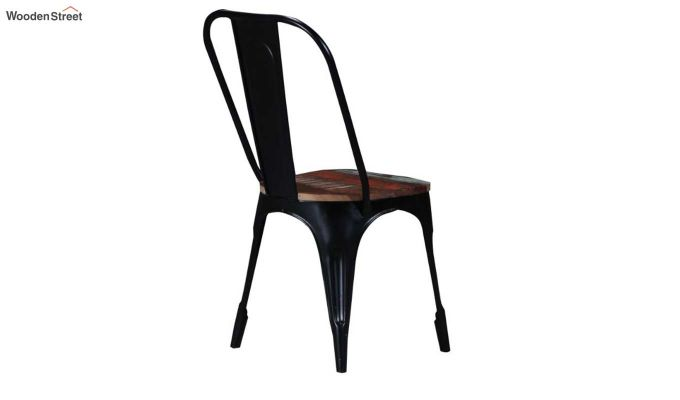 Alexa Metal Chair (Black)-5