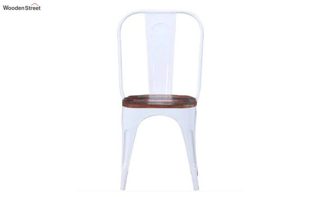 Alexa Metal Chair (White)-3