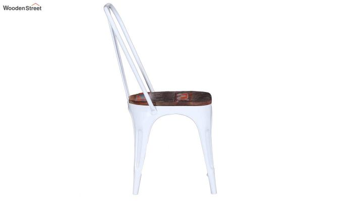 Alexa Metal Chair (White)-4