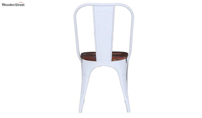 Alexa Metal Chair (White)-5