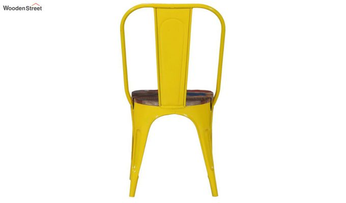Alexa Metal Chair (Yellow)-4