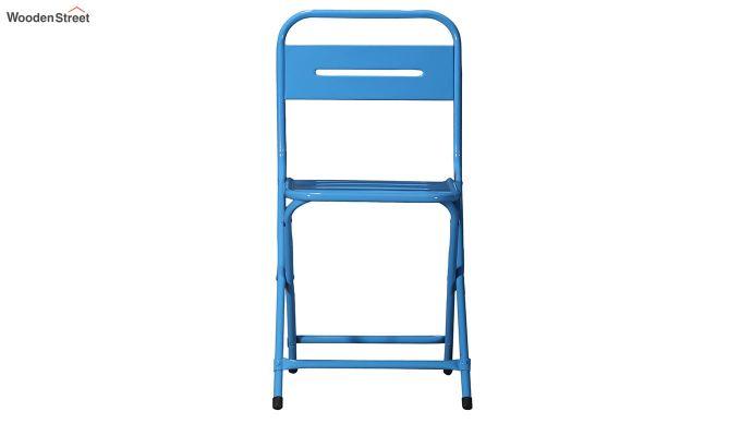 Argent Iron Folding Chair (Blue)-3
