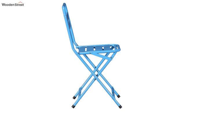 Argent Iron Folding Chair (Blue)-4
