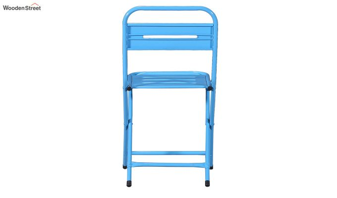 Argent Iron Folding Chair (Blue)-5