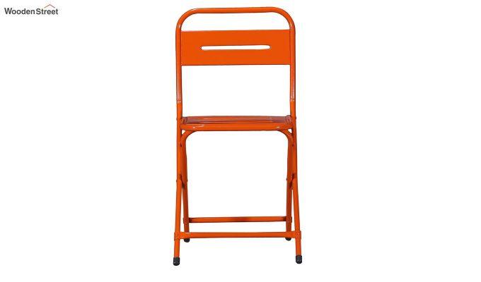 Argent Iron Folding Chair (Orange)-3