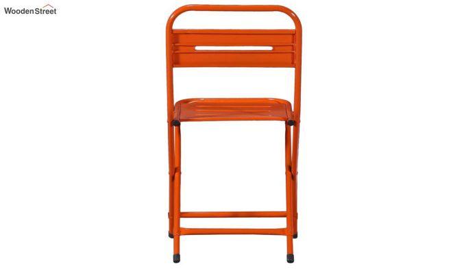 Argent Iron Folding Chair (Orange)-5