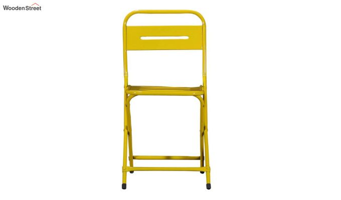 Argent Iron Folding Chair (Yellow)-3