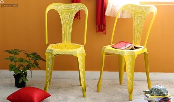 Bairstow Iron Chair (Yellow)-1
