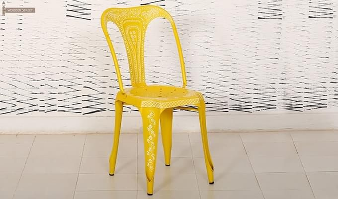 Bairstow Iron Chair (Yellow)-2