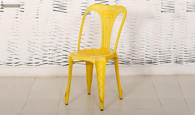 Bairstow Iron Chair (Yellow)-4