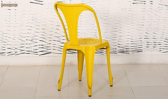 Bairstow Iron Chair (Yellow)-5