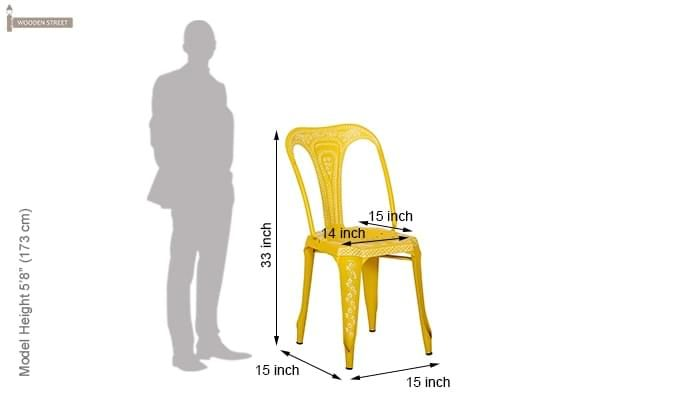 Bairstow Iron Chair (Yellow)-6