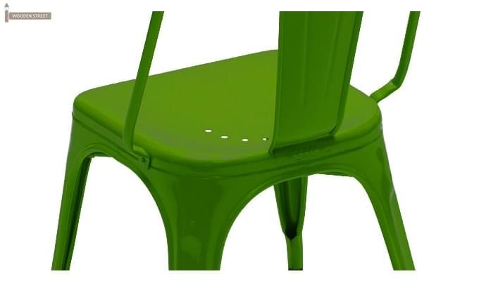 Blusa Green Metal Chair (Green)-4