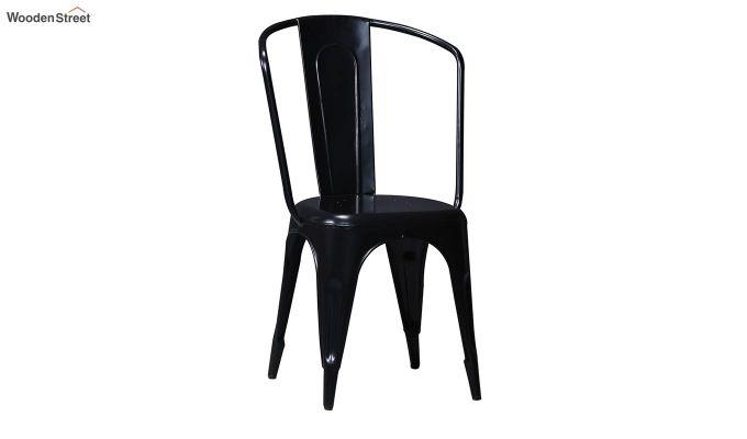 Costa Metal Chair (Black)-2