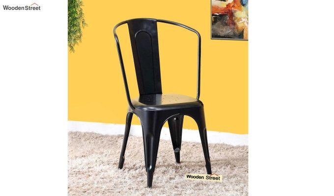 Costa Metal Chair (Black)-1