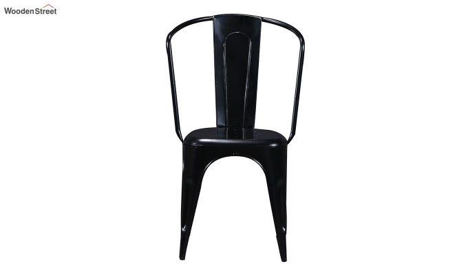 Costa Metal Chair (Black)-4