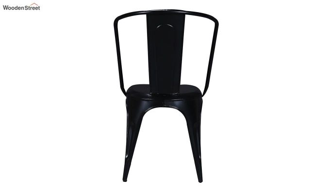 Costa Metal Chair (Black)-5