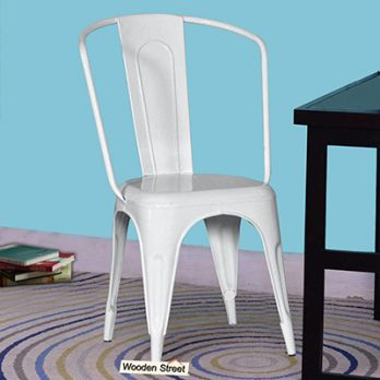Costa Metal Chair (White)